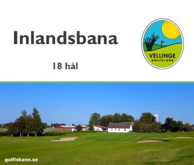 Golf i Skåne - Vellinge GK i böljande raps- och sädesfält Adr. golfiskane.se