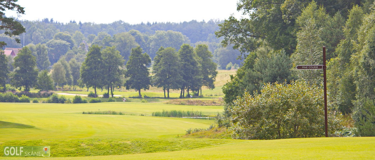 Golf i Skåne banbild- Woodland Golfklubb Adr. golfiskane.se