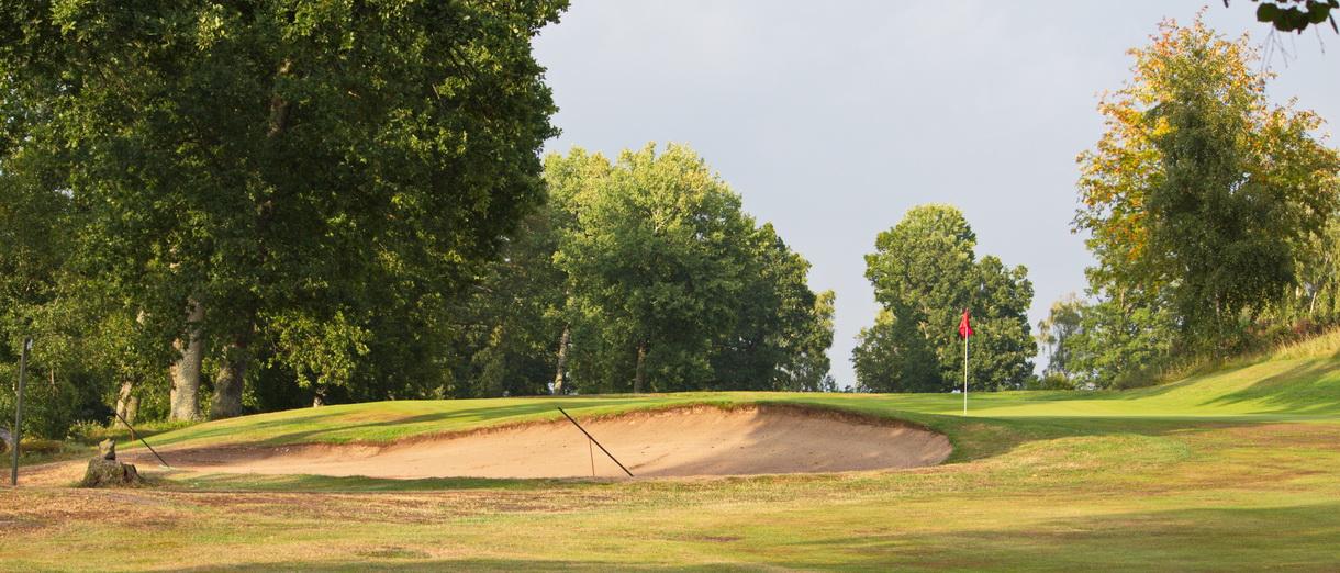Golf i Skåne - Skyrups Golfklubb - Bunker