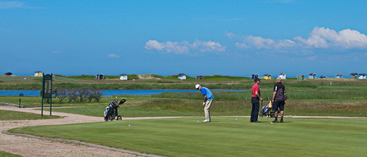 Golf i Skåne - Flommens Golfklubb bild från banan 2