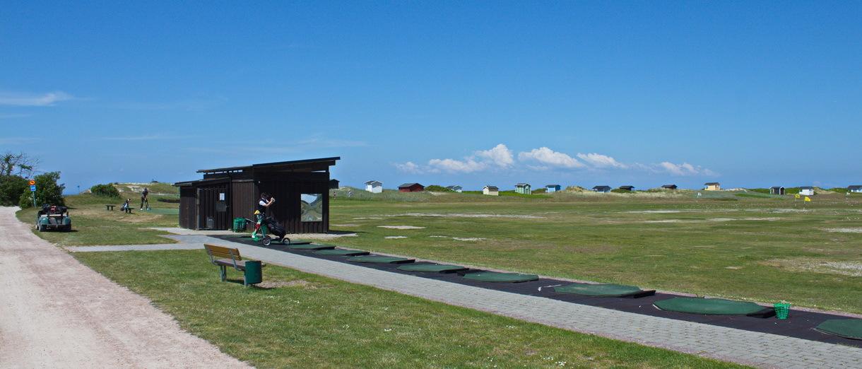 Golf i Skåne - Flommens Golfklubb drivingrange