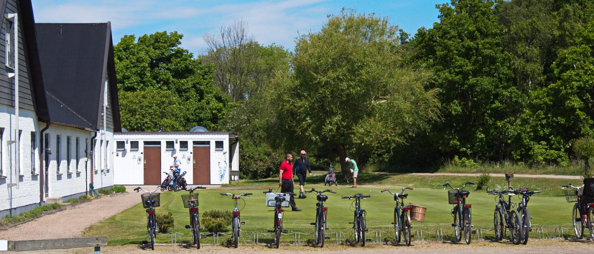Golf i Skåne - Flommens Golfklubb lilla övningsgreenen