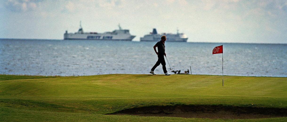 Golf i Skåne - Trelleborg Golfklubb - bild från banan 1
