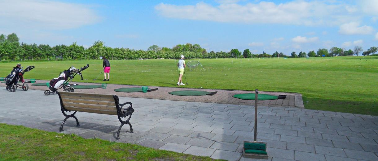 Golf i Skåne - Eslövs Golfklubb drivingrange