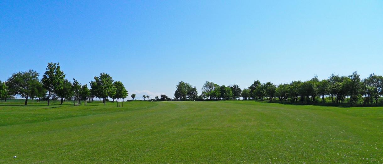 Golf i Skåne - Eslövs Golfklubb bild från banan 2