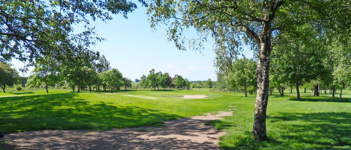 Golf i Skåne - Eslövs Golfklubb bild från banan 5