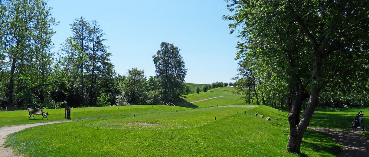 Golf i Skåne - Eslövs Golfklubb bild från banan 6