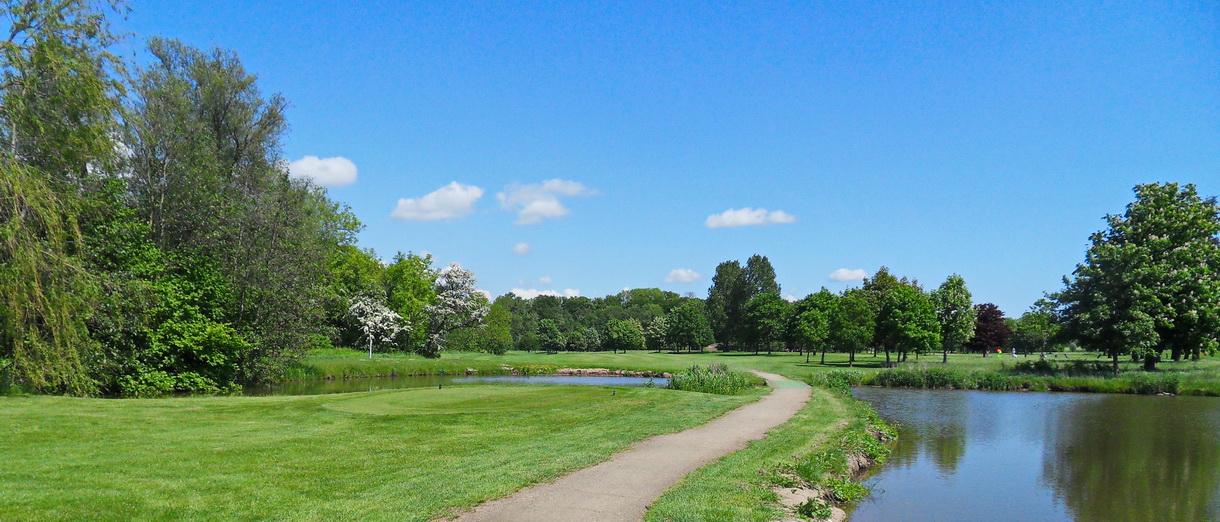 Golf i Skåne - Eslövs Golfklubb bild från banan 7
