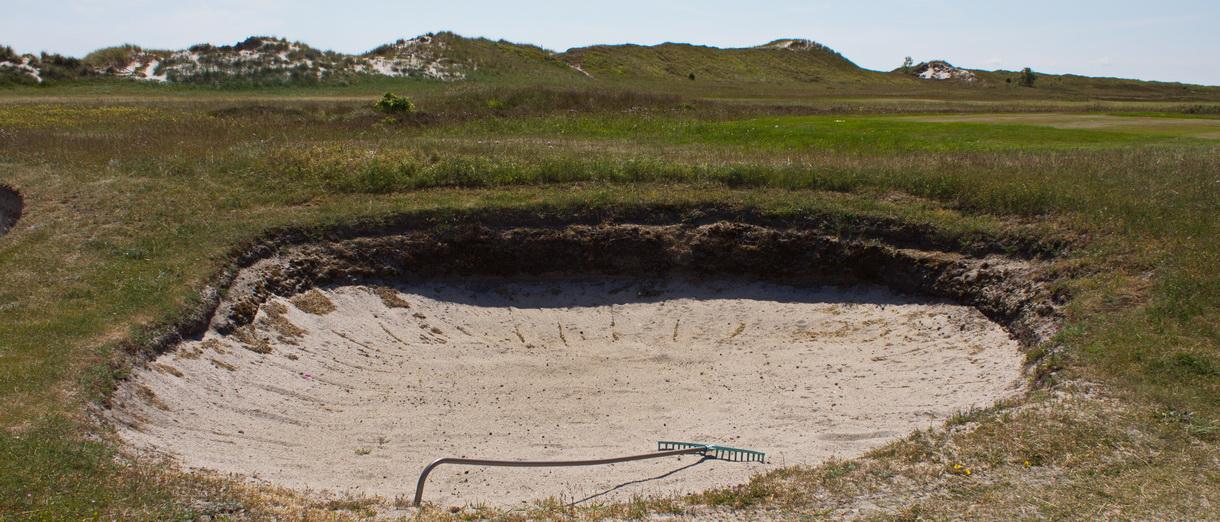 Golf i Skåne - Falsterbo Golfklubb bild från banan 3