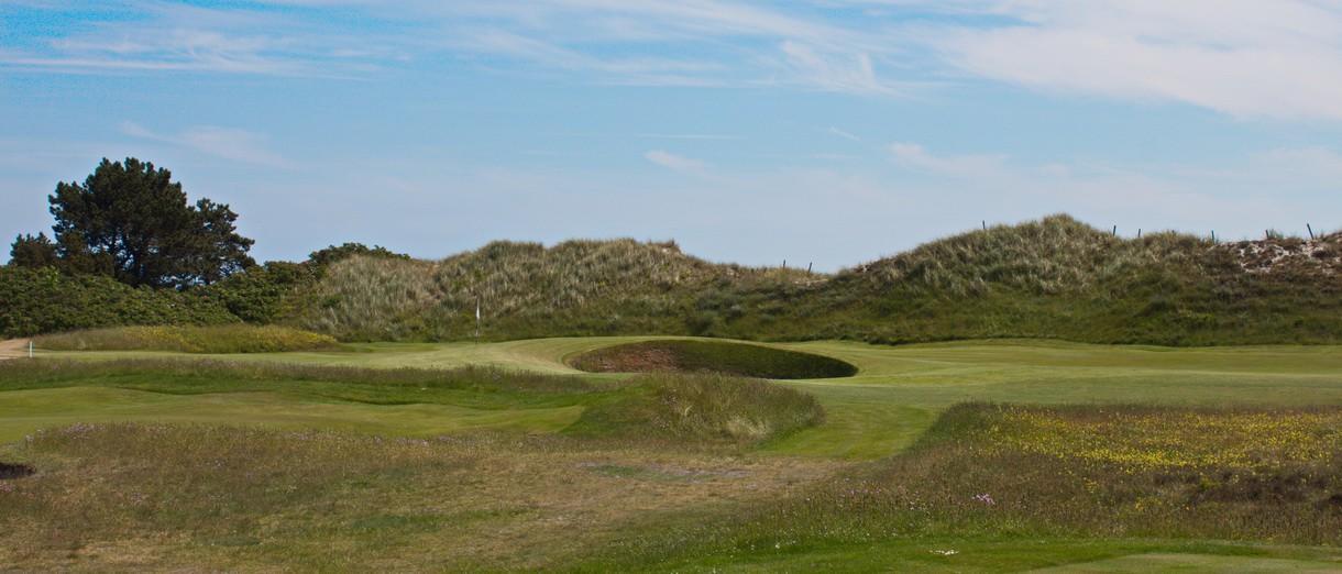 Golf i Skåne - Falsterbo Golfklubb bild från banan 6