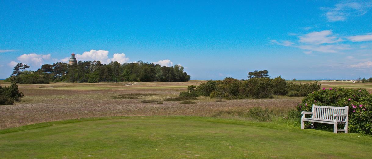 Golf i Skåne - Falsterbo Golfklubb bild från banan 8