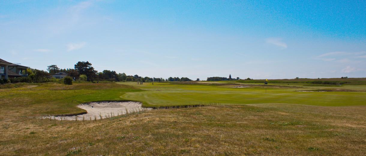 Golf i Skåne - Falsterbo Golfklubb bild från banan 9