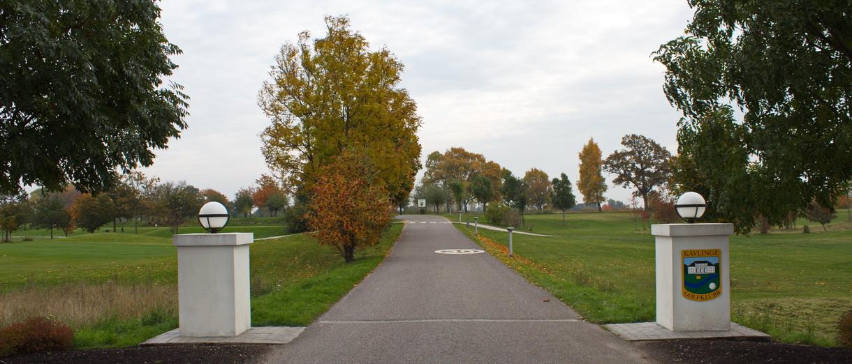 Golf i Skåne - Kävlinge Golfklubb bild från banan 1