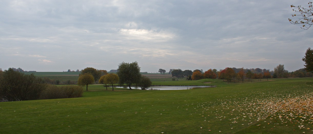 Golf i Skåne - Kävlinge Golfklubb bild från banan 4