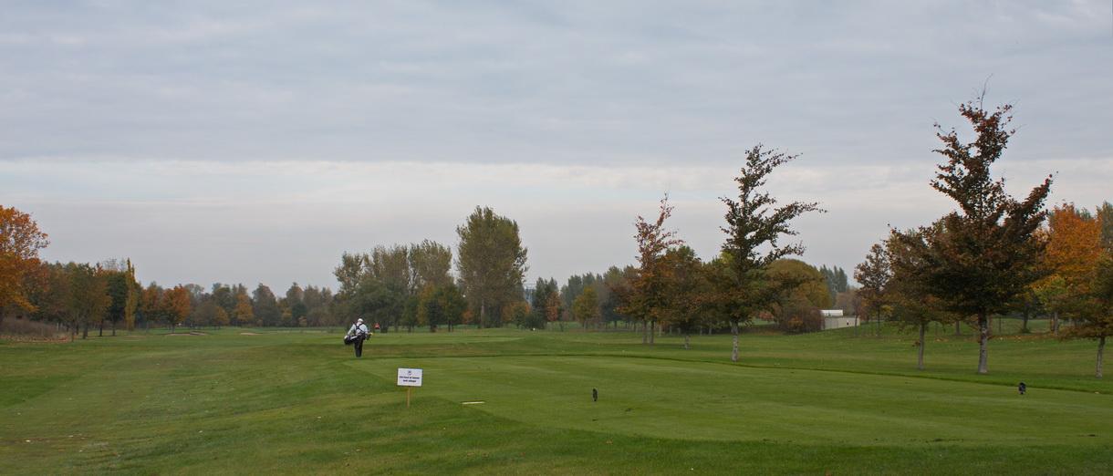 Golf i Skåne - Kävlinge Golfklubb bild från banan 7