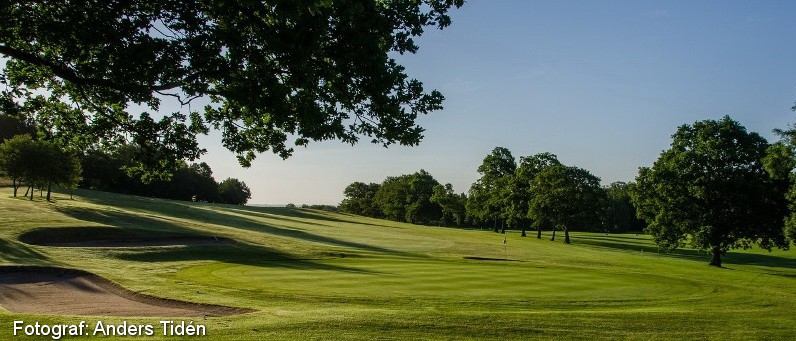 Golf i Skåne - Romeleåsens Golfklubb - bild från banan 1