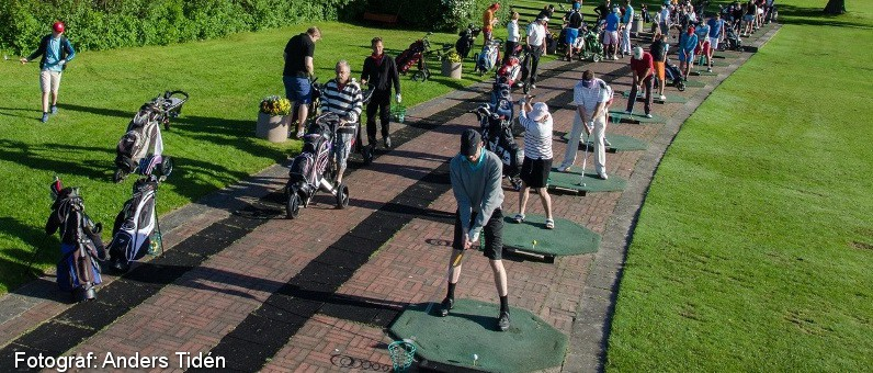 Golf i Skåne - Romeleåsens Golfklubb - Drivingrange
