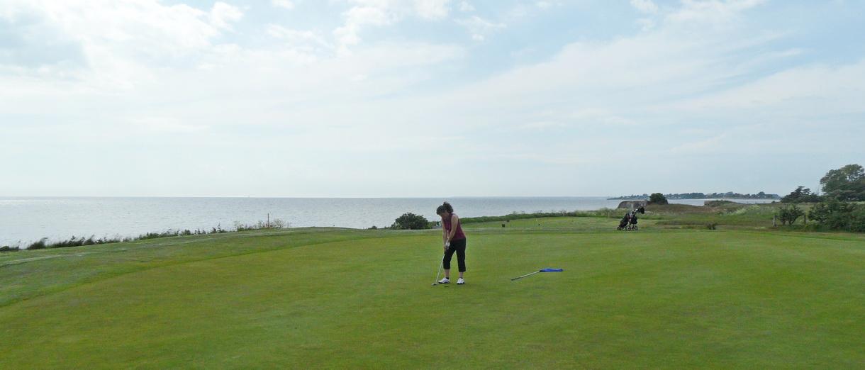 Golf i Skåne - Trelleborg Golfklubb - bild från banan 2