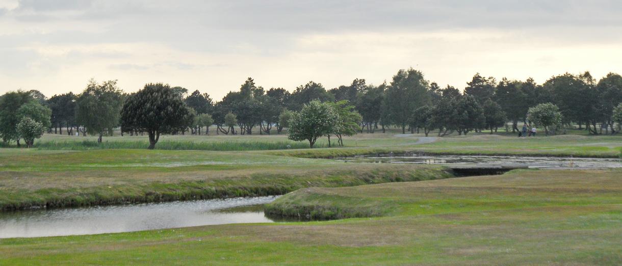 Golf i Skåne - Trelleborg Golfklubb - bild från banan 5