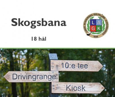 Golf i Skåne - Lunds Akademiska Golfklubb - Skogsbana 18 hål