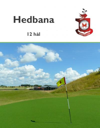Golf i Skåne - Oxie Golfklubb - Hedbana 12 hål - nya klubbhuset (2014) i bakgrunden