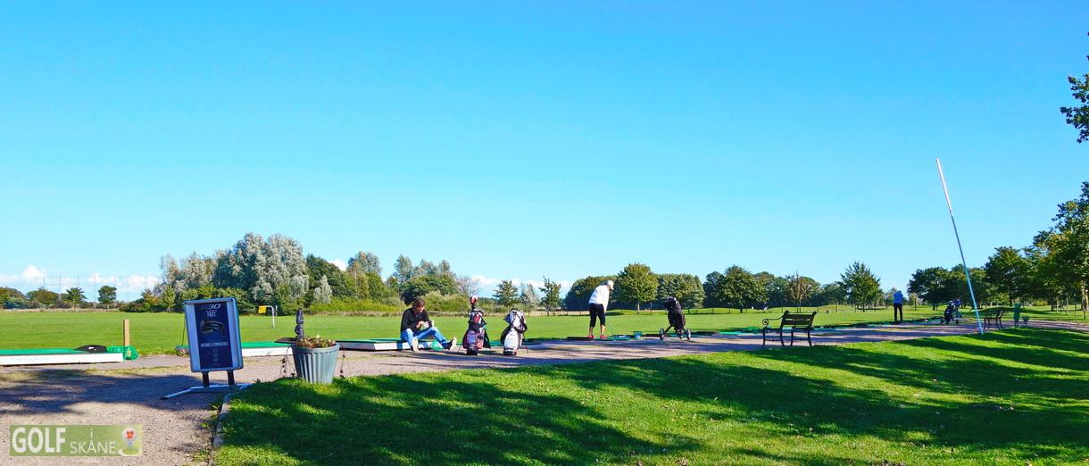 Golf i Skåne - Allerums Golfklubb - drivingrange Adr. golfiskane.se