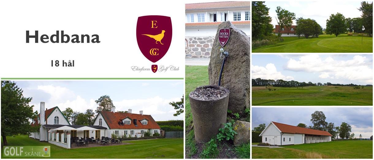 Golf i Skåne - Elisefarm Golfklubb Adr. golfiskane.se