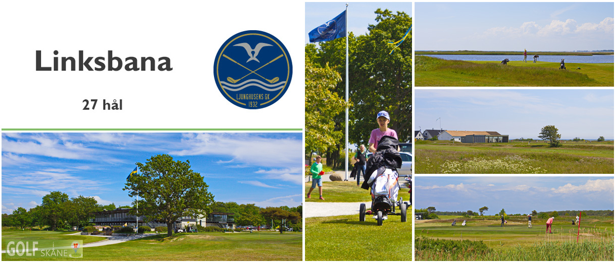 Golf i Skåne - Ljunghusens Golfklubb Adr. golfiskane.se