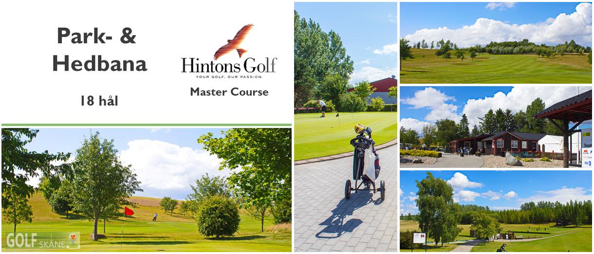 Golf i Skåne - Hintons Golf - Master Course (Rönnebäck) Adr. golfiskane.se