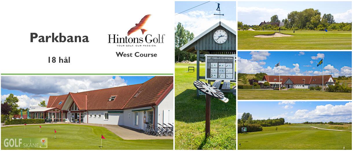 Golf i Skåne - Hintons Golf - West Course (Sofiedal) Adr. golfiskane.se