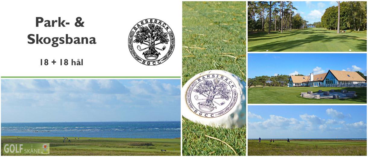 Golf i Skåne - Barsebäck Golf & Country Club - Park- & Skogsbana 18 + 18 hål