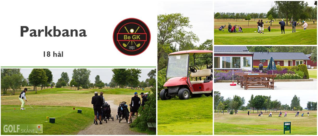Golf i Skåne - Bedinge Golfklubb - Parkbana 18 hål