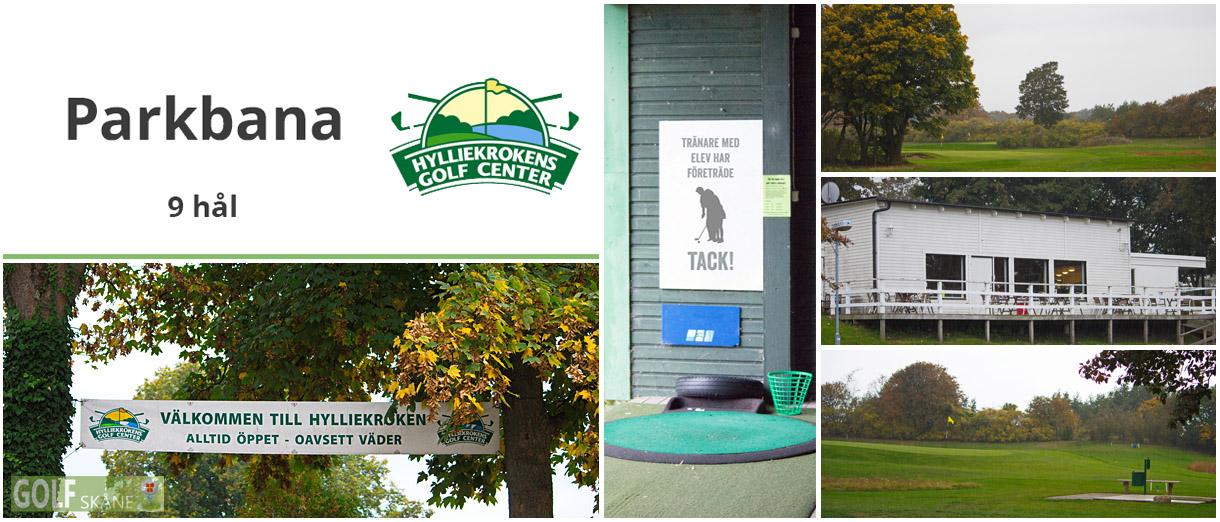 Golf i Skåne - Hylliekrokens golf - Parkbana 9 hål