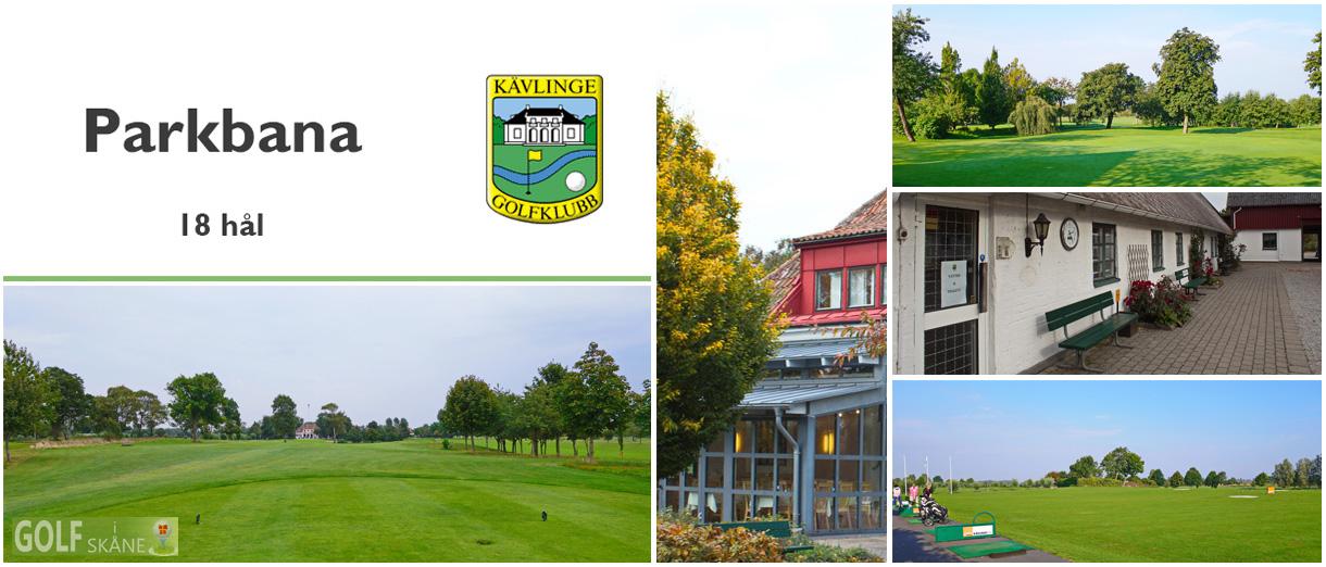 Golf i Skåne - Kävlinge Golfklubb - Parkbana 18 hål