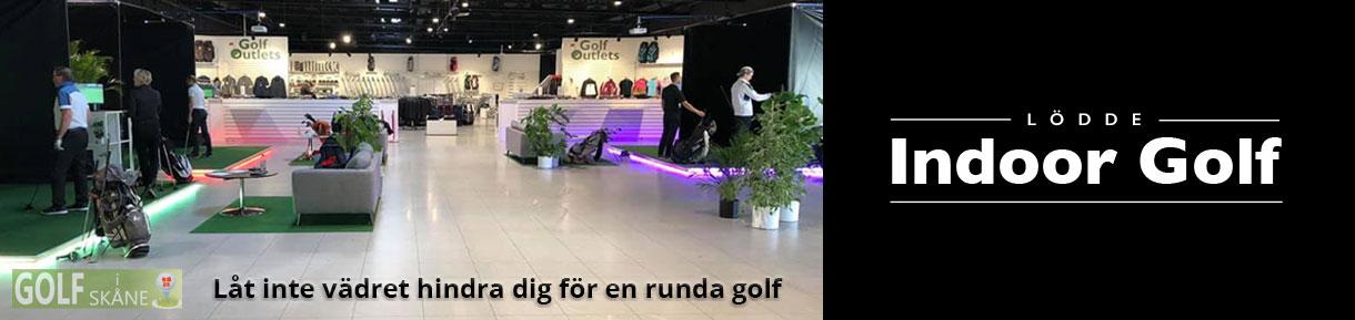 Golf i Skåne Skånska Golfpärlor Lödde Indoor Golf golfiskane.se