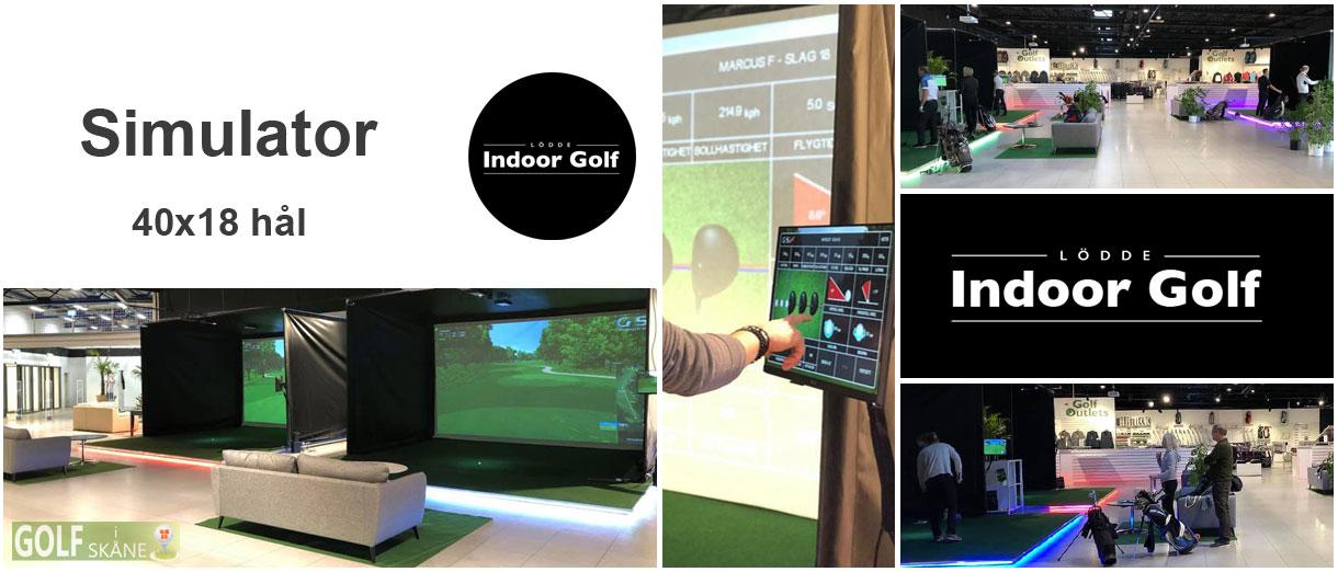 Golf i Skåne - Lödde indoor Golf Adr. golfiskane.se